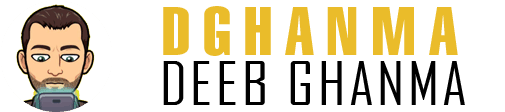 Deeb ghanma Logo black